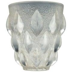 René Lalique Rampillon Vase No 991