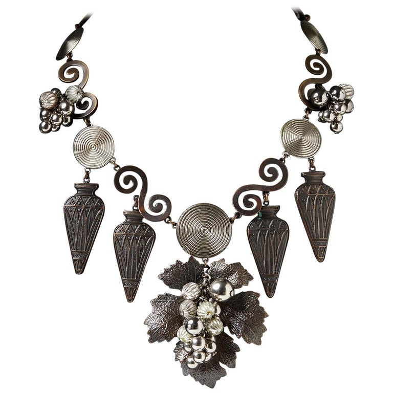Necklace Designed by Yves Saint Laurent, France, 1970s