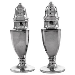 Sterling Salt Shakers
