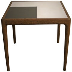 Mid-Century Modern Teak Wooden Table by Jos De Mey for Vandeberghe Pauvers 1960s