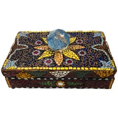 French Pique Assiette Mosaic Box
