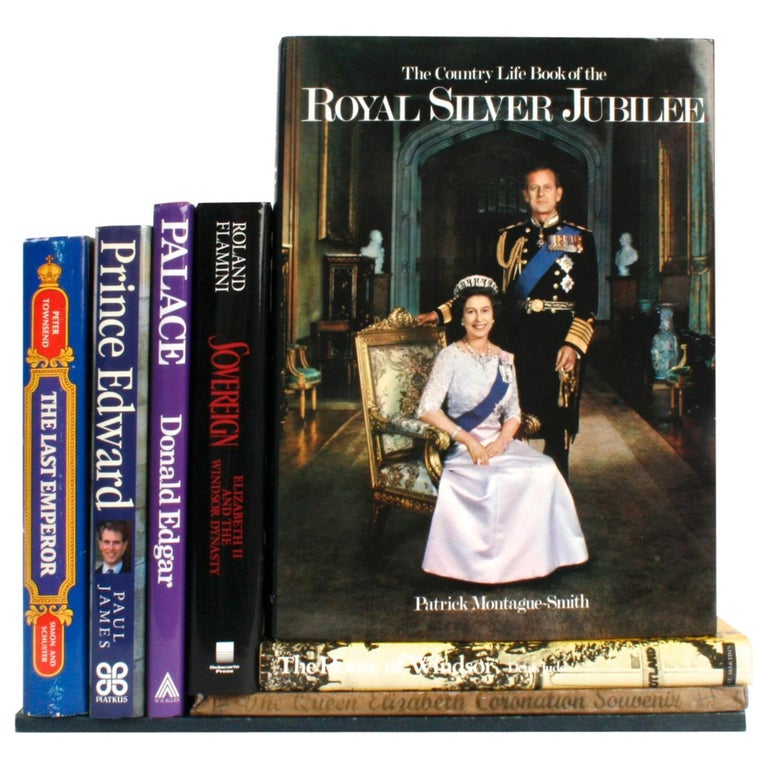 Collection of Eight Books on English Royalty