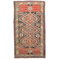Antique Caucasian Shirvan Rug, circa 1890
