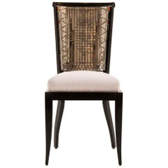 Daniel Clément Mosaic Mirror Occasional Chair