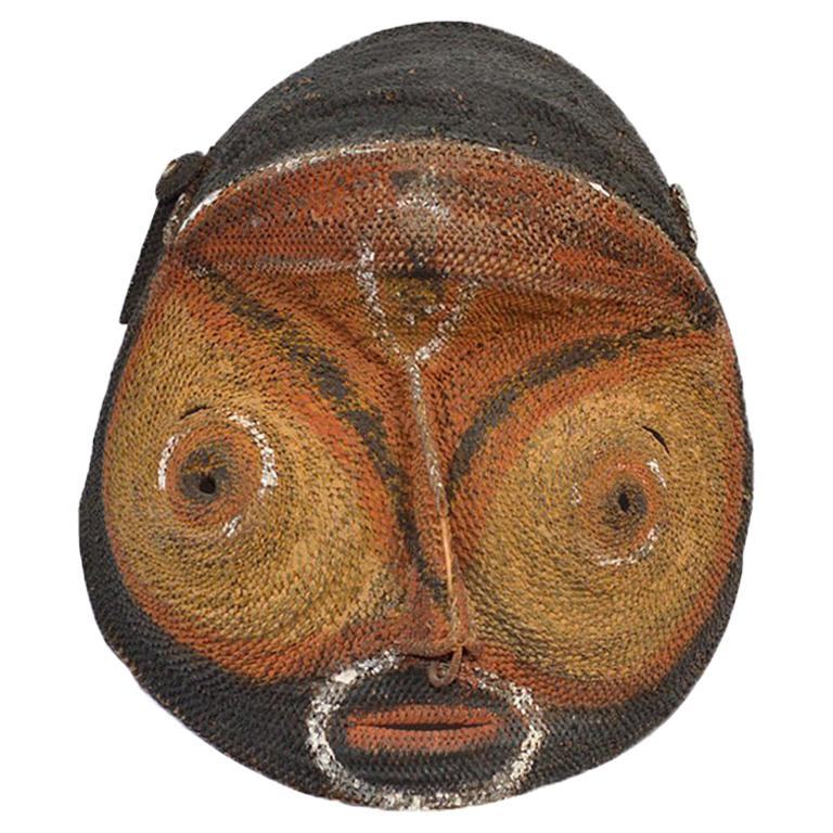 Ambelam yam mask from Papua New Guinea, early 20th century, offered by Tribal Art Antiques