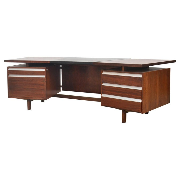 Fristho Executive Rosewood Desk For Sale