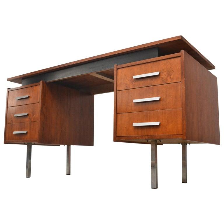 Cees Braakman Teak Desk for Pastoe For Sale