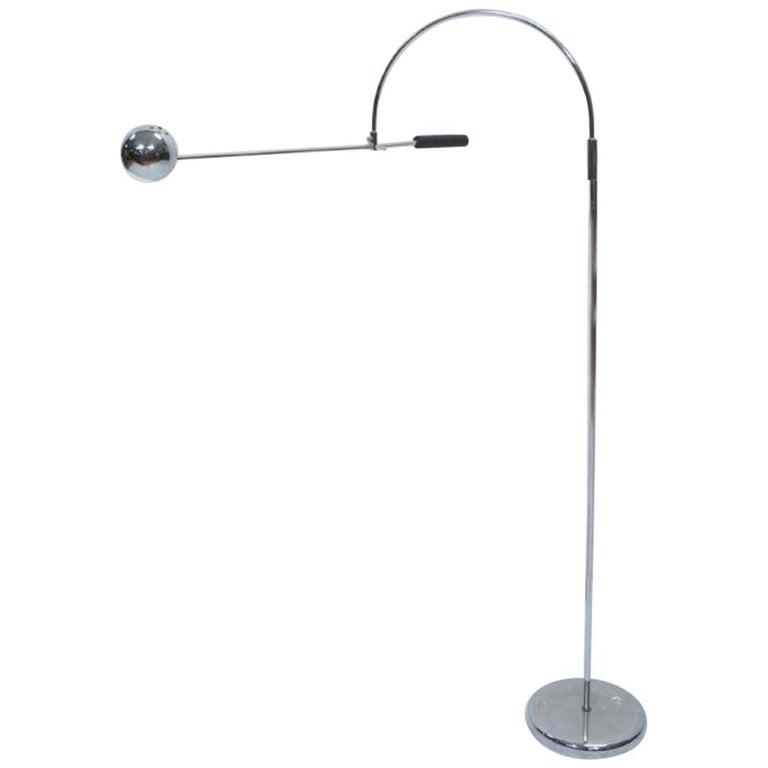 Robert Sonneman Modernist Orbital Floor Lamp