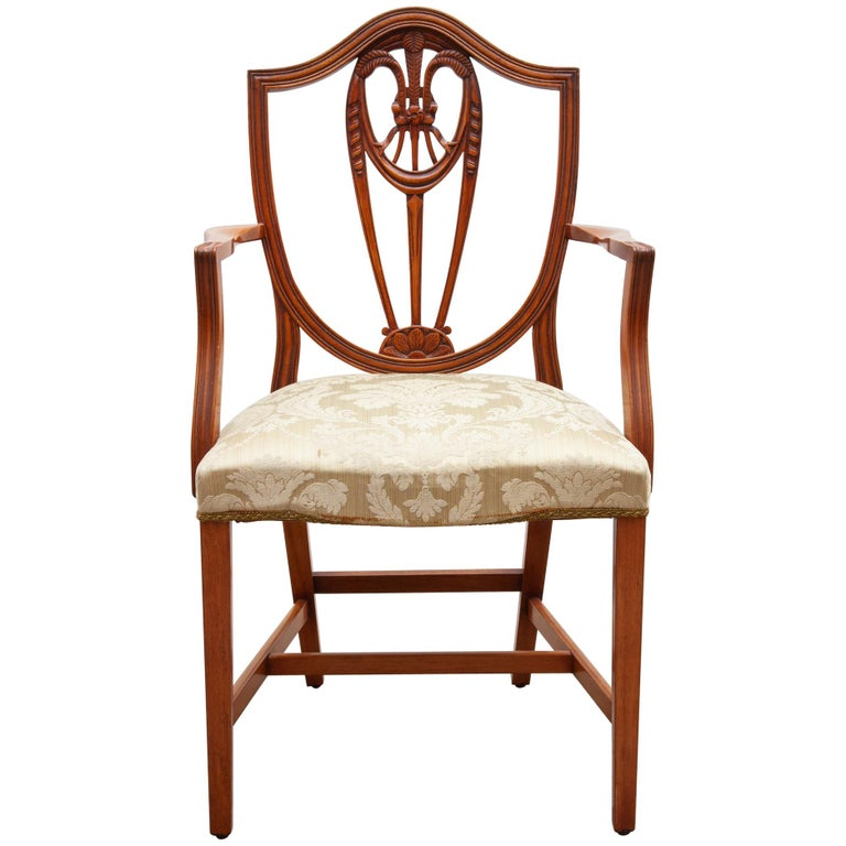 Set Of Two Georgian Style Armchairs For