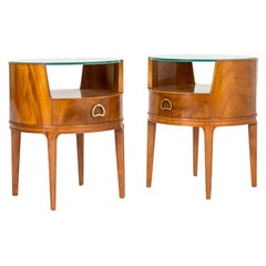 Pair of Mahogany Side Tables by Axel Larsson
