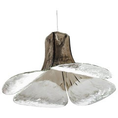 Huge Italian Carlo Nason Blown Glass Ceiling Lights Pendant, 1960s