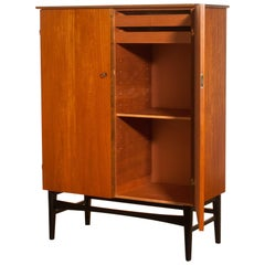 1950s, Teak and Beech Cabinet, Sweden