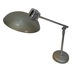 French Industrial Art Deco Desk Lamp