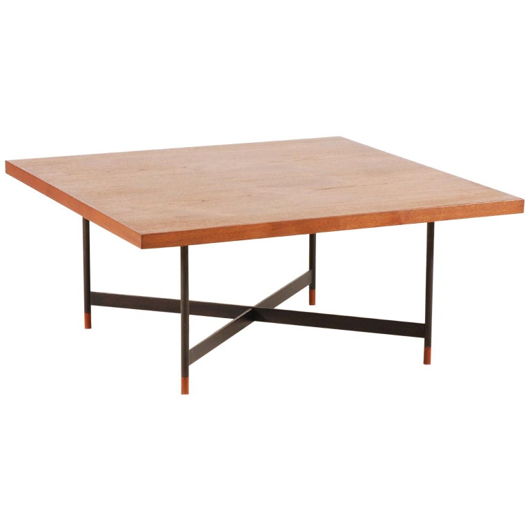 Finn Juhl, Rare Teak Coffee Table FJ-57, 1950s 1