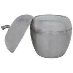 Apple-Shaped Ice Bucket, 20th Century