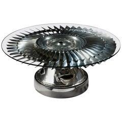 Rolls Royce Fan Blade Coffee Table