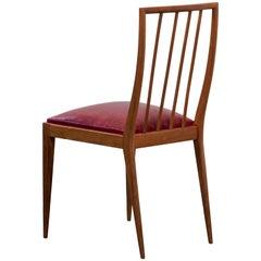 Vintage Rosewood Chair by Geraldo de Barros for Unilabor, 1950s