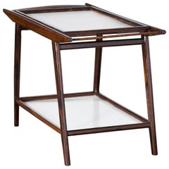 Bar Cart in Rosewood by Geraldo de Barros, 1960s