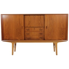 1960s Danish Teak Highboard