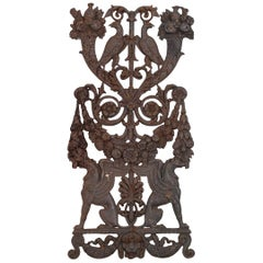 Decorative Cast Iron Piece