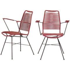 Attributed Gastone Rinaldi Garden Chairs, 1950s