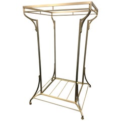Bronze Closest Organization Clothes and Shoes Rack