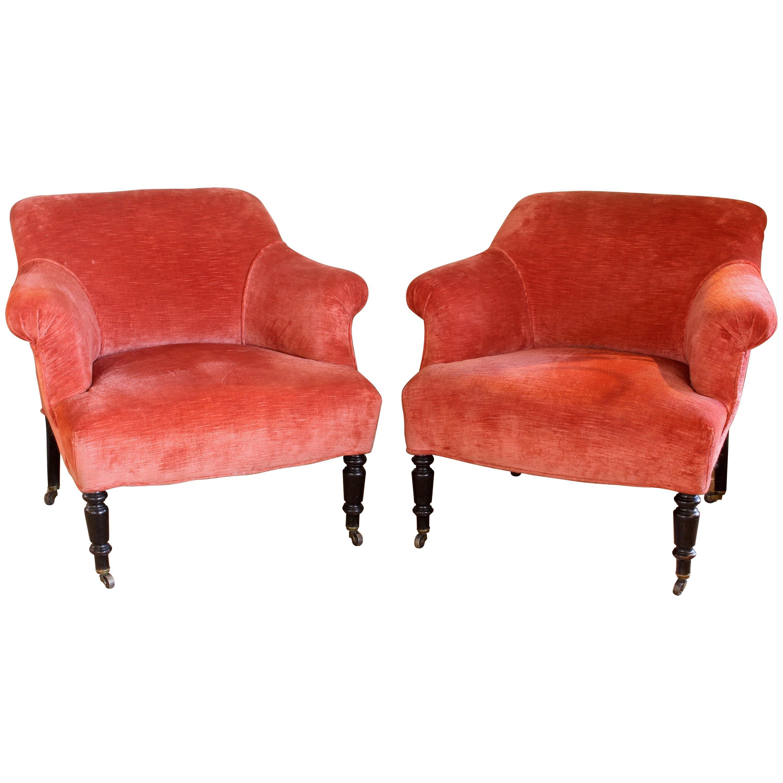 Edwardian Club Chairs