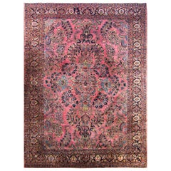 Antique Mohajeran Sarouk Carpet