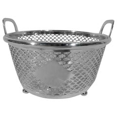 Antique Tiffany Edwardian Sterling Silver Ice Bucket