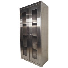 Tall Stainless Steel Cabinet