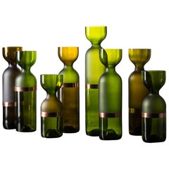 """Gargalos"" Set of Vases Design by Brunno Jahara"