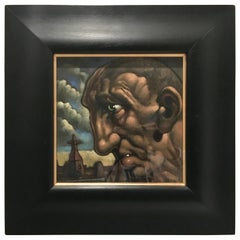 Original Peter Howson Figurative Painting, Oil on Canvas
