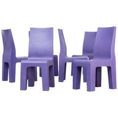 1990s Richard Hutten 'Centraal Museum' Chair for Gispen Set of Six
