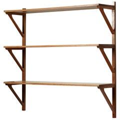 Bookshelf, Designed by Børge Mogensen for Erhard Rasmussen, 1950s