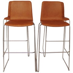 Set of Four Barstools, Model JW01, by Jacob Wagner for HAY