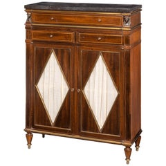 Regency Period Mahogany Side Cabinet of Small Proportions