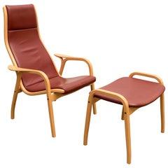 Scandinavian Lamino Chair by Yngve Ekström for Swedese, 1960s