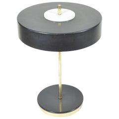 Black Metal Table Lamp by Lustry Kamenický Šenov, 1970s