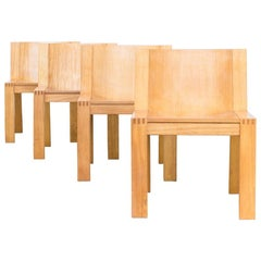 1970s Mazairac & Boonzaaijer SE15 Chair for Pastoe Set or Four