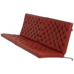 PK 26, Wall-mounted sofa by Poul Kjærholm