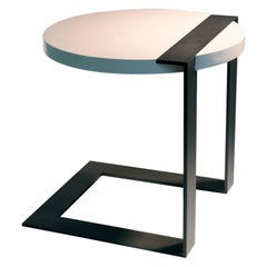 ET-87 Round Cantilevered End Table by Antoine Proulx