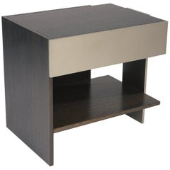 ET-183S End or Bedside Table with Drawer by Antoine Proulx
