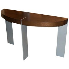 ST-91 Coffee Table with Metal Legs by Antoine Proulx