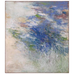 Large Scale Exhibited Impressionistic Painting by James Rayen, circa Mid-1960s