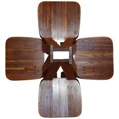 Pierre Chapo Four Original S45 Chairs Elmwood