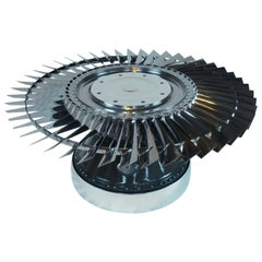 Rolls Royce LP3 Front Fan Blade Coffee Table