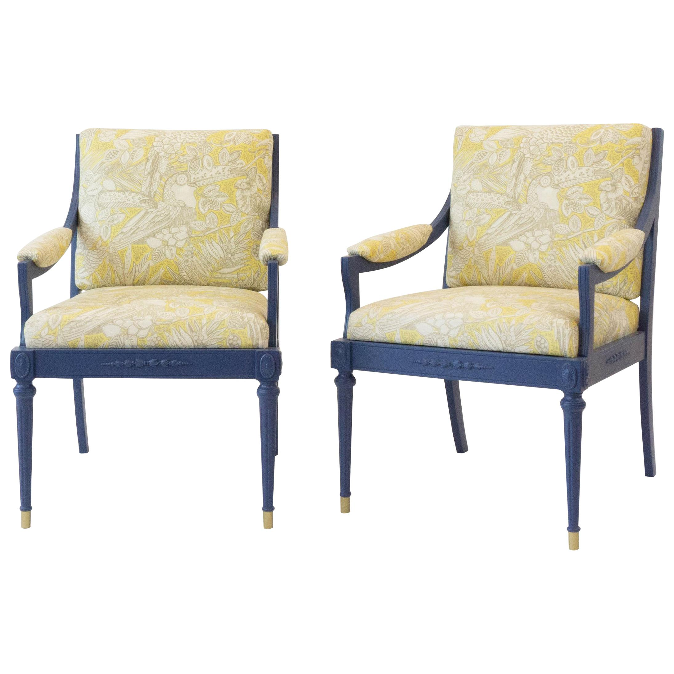 Genial Vintage Hollywood Regency Chairs For Sale