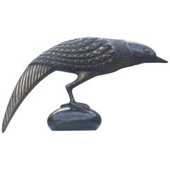 Fabulous 1970s French Bronze Bird Sculpture after Armand Rateau