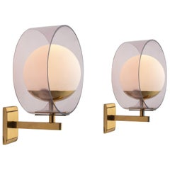 Pair of Stilux Wall Lights, circa 1960