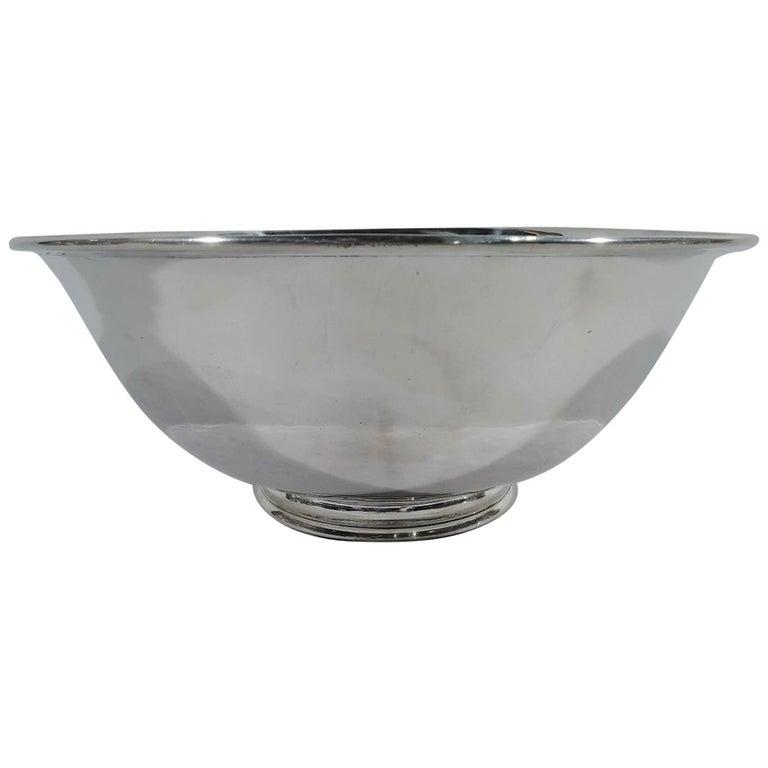 Arthur Stone Craftsman Hand-Hammered Sterling Silver Bowl